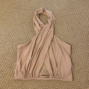 Bardot Wrap Up Cross Front Bodysuit
